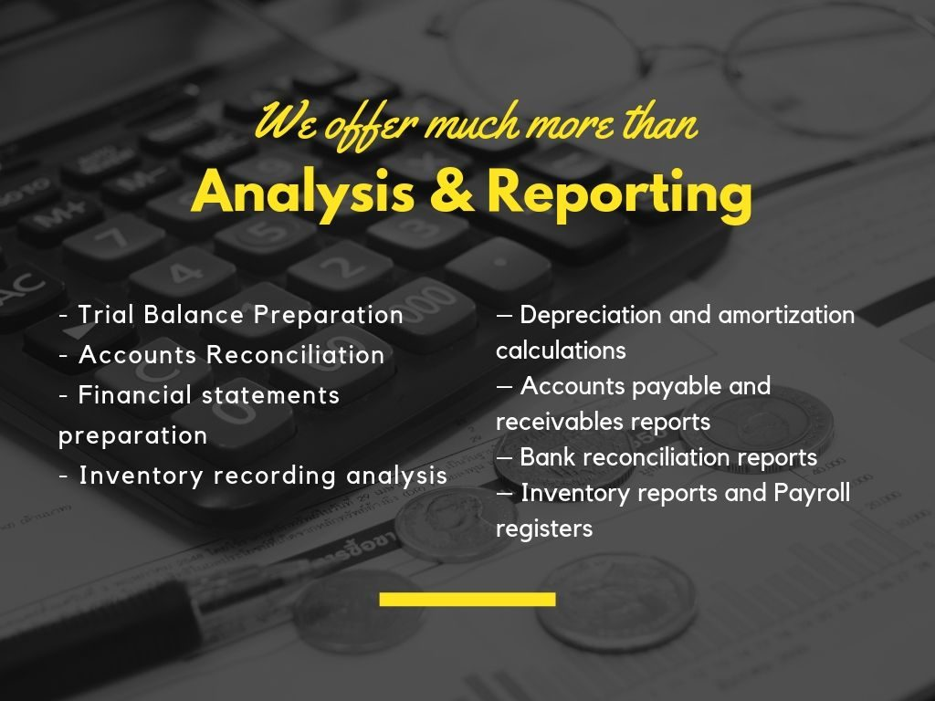 financial anaylsis and reporting
